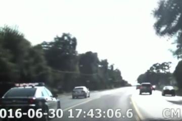 video achtervolging meisje, meisje 12 vs achtervolging, achtervolging video wildwest